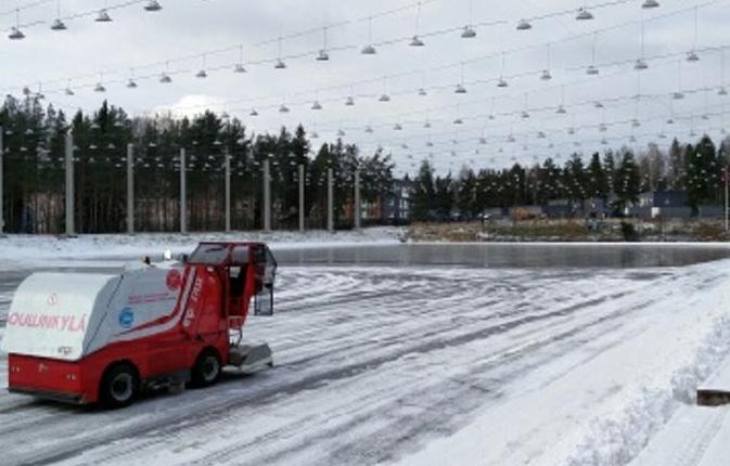 Stadin tekojääkenttien jäädytys käynnissä -pian luistellaan | Newsbox.fi